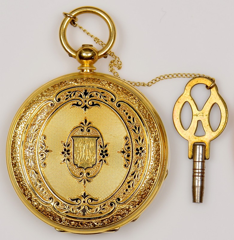 Lot 81: 18K A Golay Leresche & Fils Watch, 1878