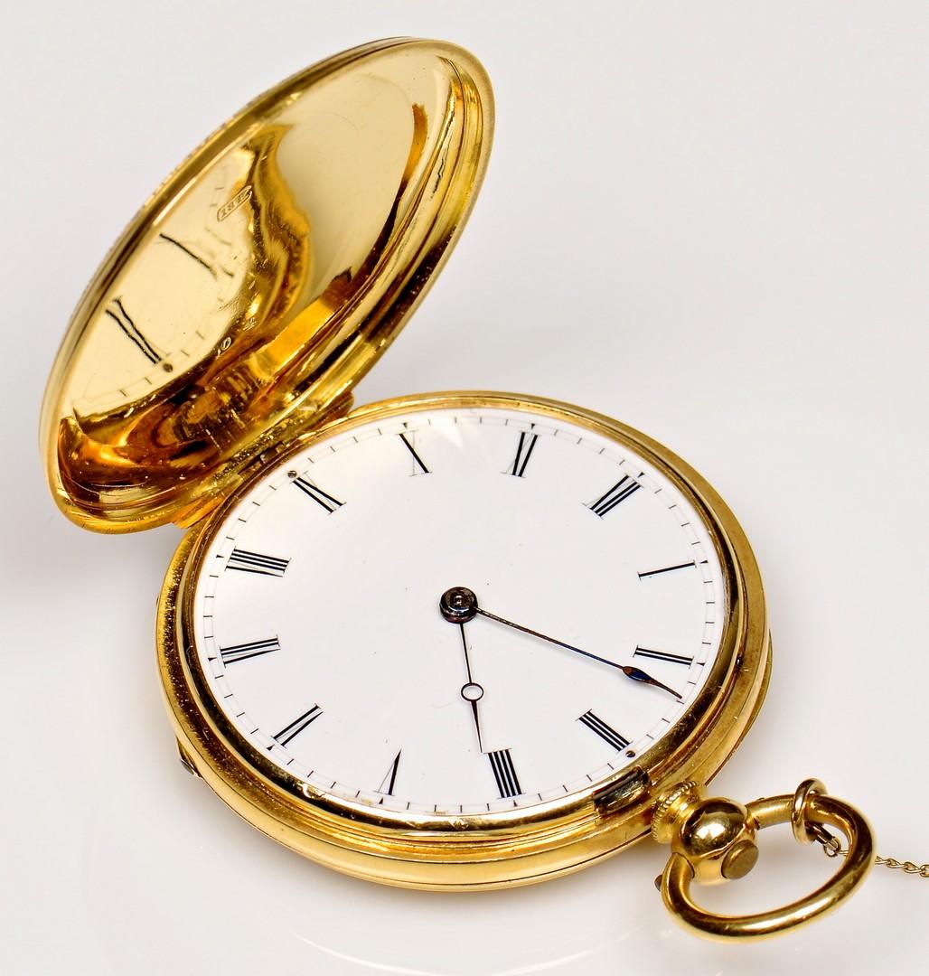 Lot 81: 18K A Golay Leresche & Fils Watch, 1878