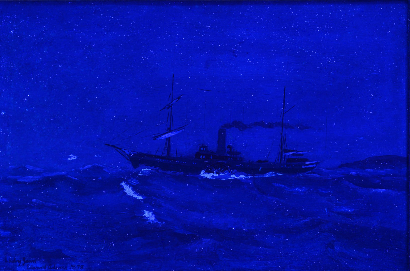 Lot 826 Maritime Oil Of Steamship Lady Jean