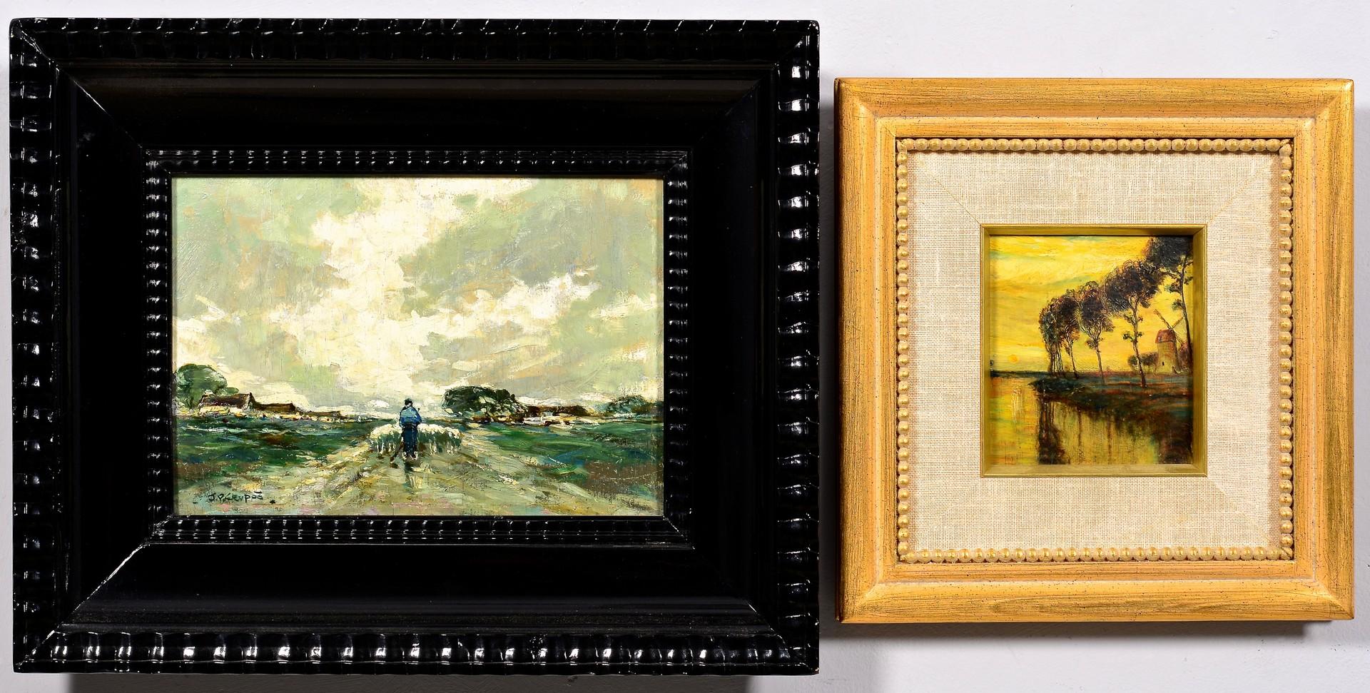Lot 838: Two European O/B Landscapes