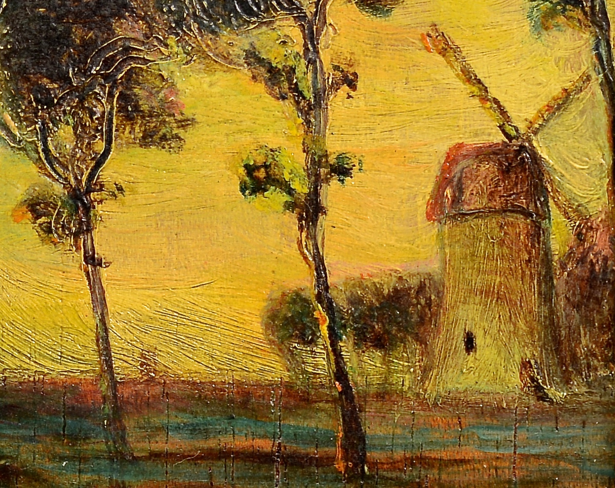 Lot 838: Two European O/B Landscapes
