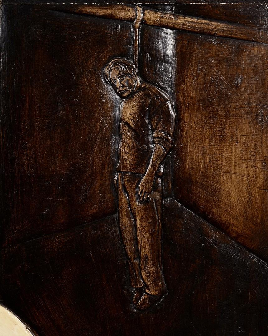 Lot 846: Jonathan Santlofer portraits: Gorky & Delaunays