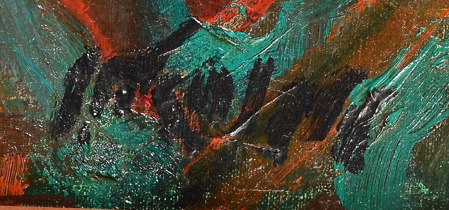 Lot 850: Arie Wachenhauser oil on canvas child portrait