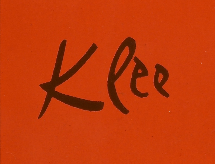 Lot 855: Miro and Klee Lithos and Poster, 3 items