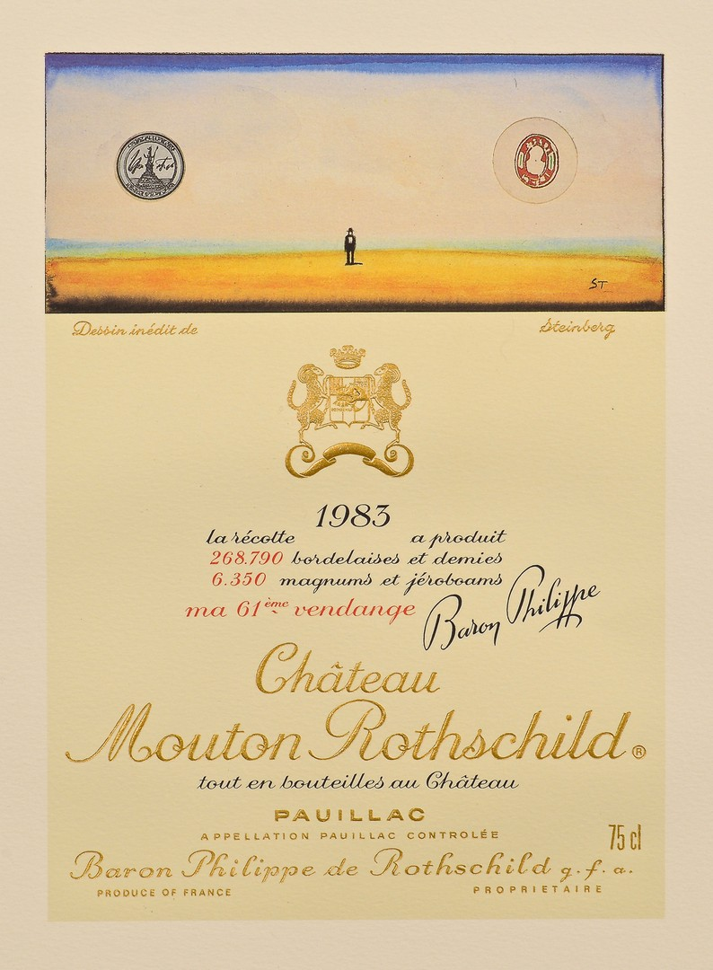 Lot 860: 2 Chateau Mouton Rothschild/Baron Philippe Wine La