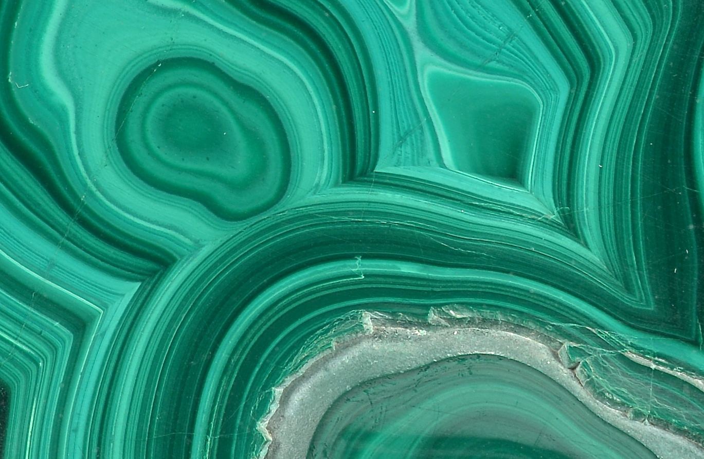 Lot 863: Large Malachite Free form Mineral Specimen