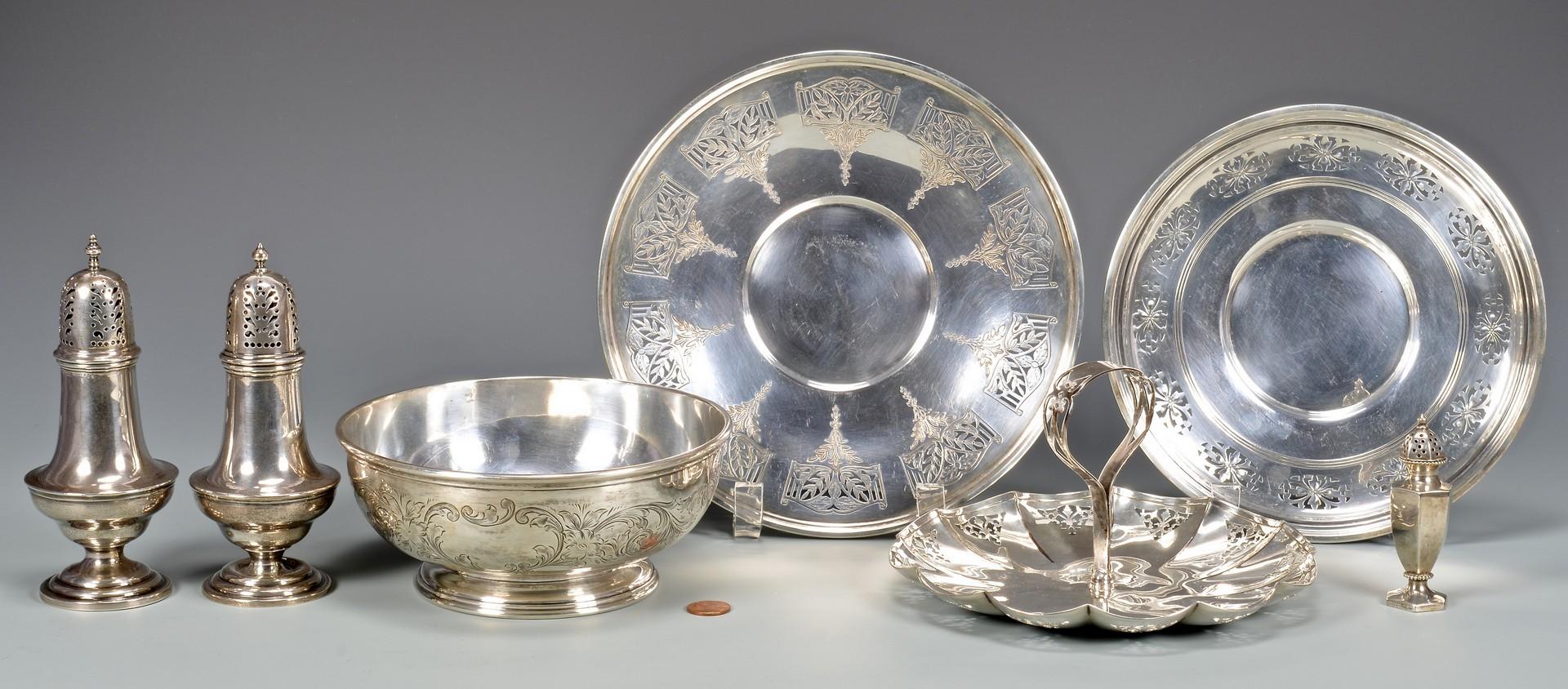 Lot 869: Birks Sterling Serving Hollowware, Engraved Decora