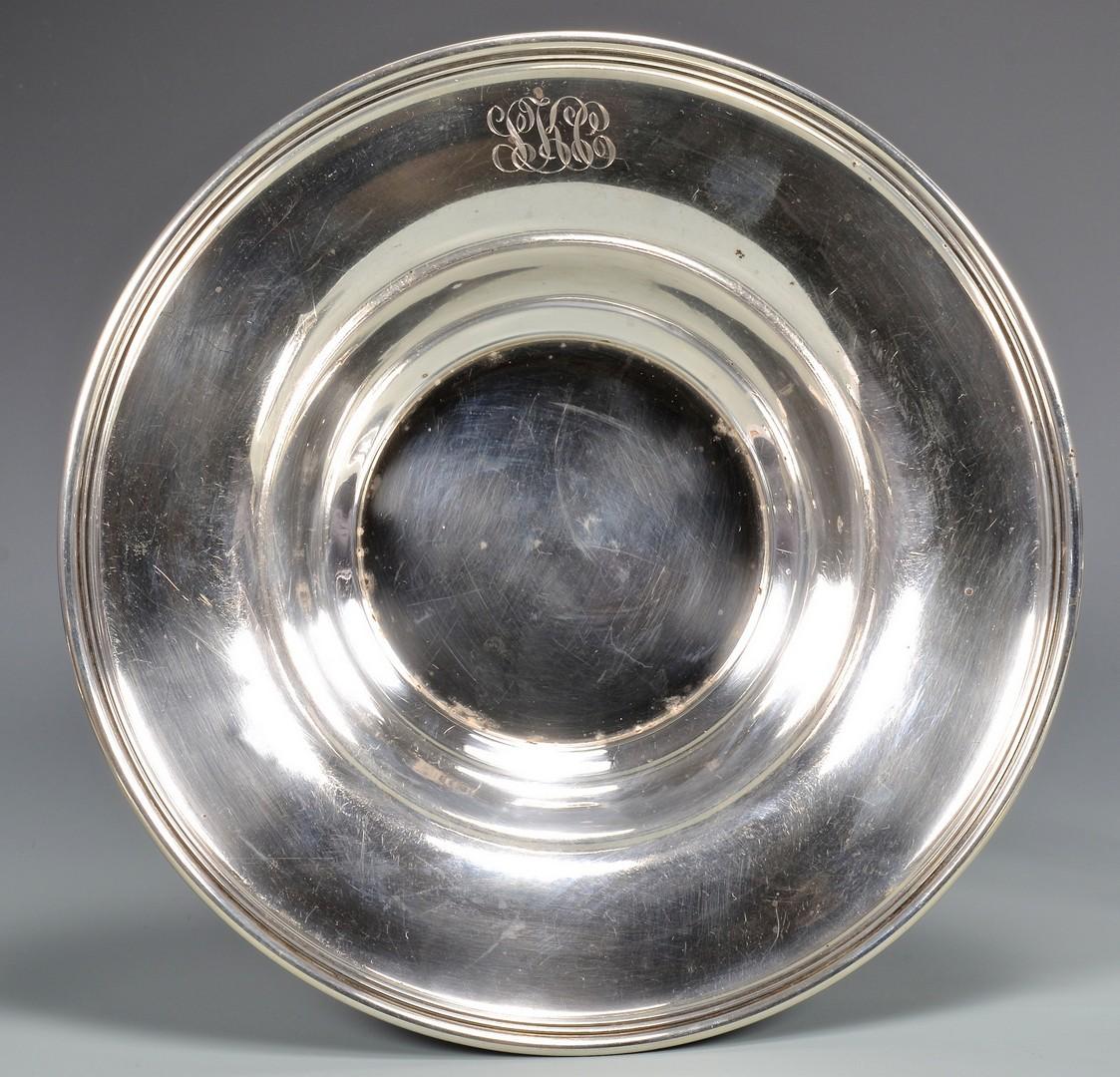 Lot 871: 7 pcs Sterling Hollowware inc. Plates, Bowls