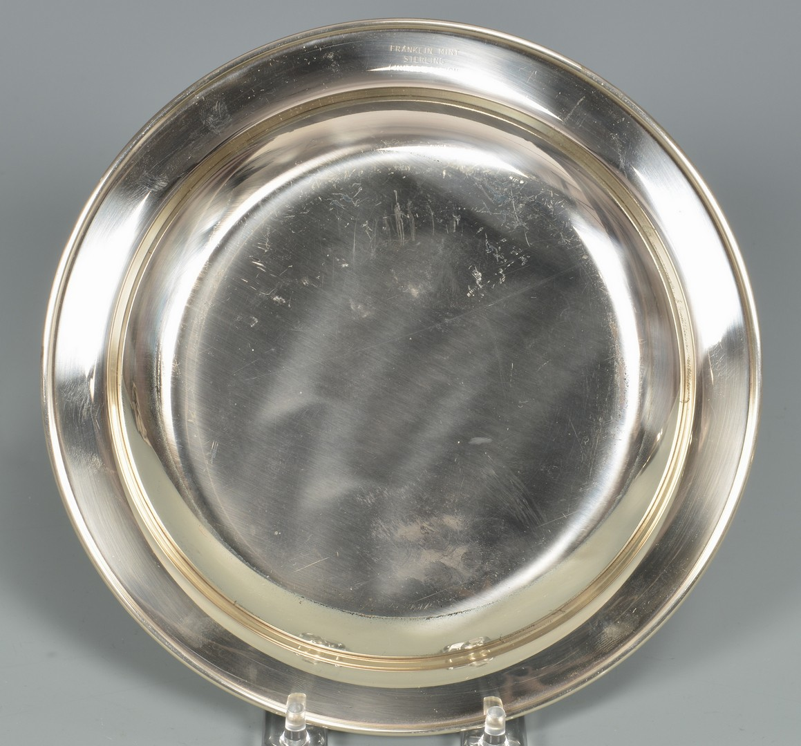 Lot 876: Sterling Plates incl. Bread Plates, Pats & more