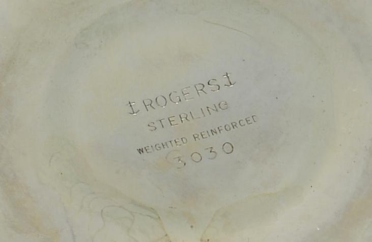 Lot 881: Lunt Malvern Sterling Flatware & More