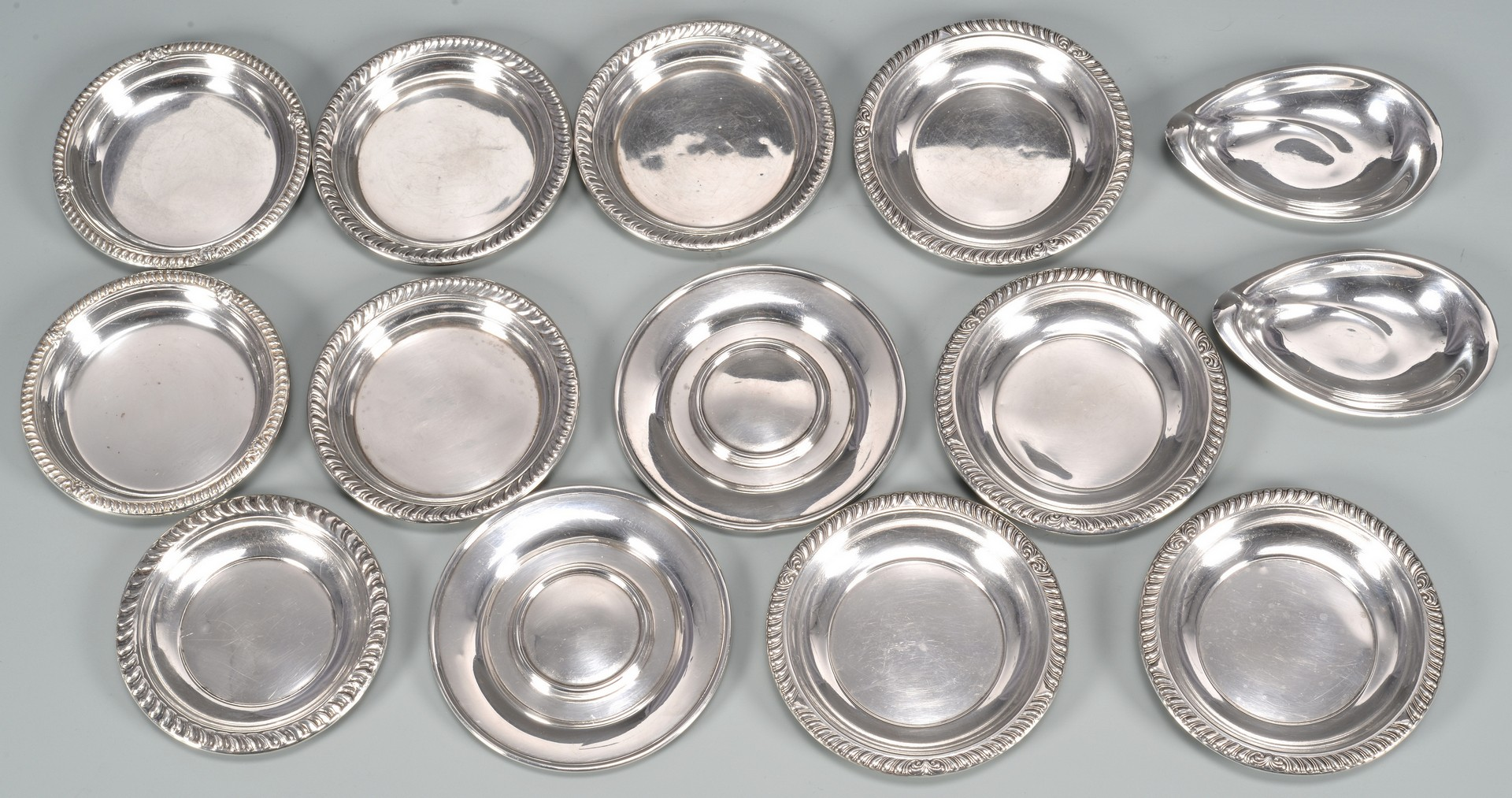 Lot 885: Assortment Sterling silver items, 21 total