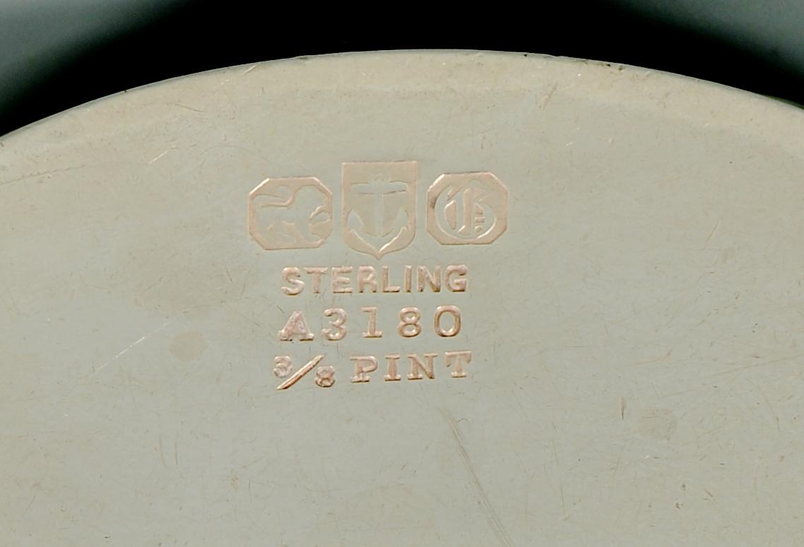 Lot 887: Group Sterling incl Gorham Tea Set