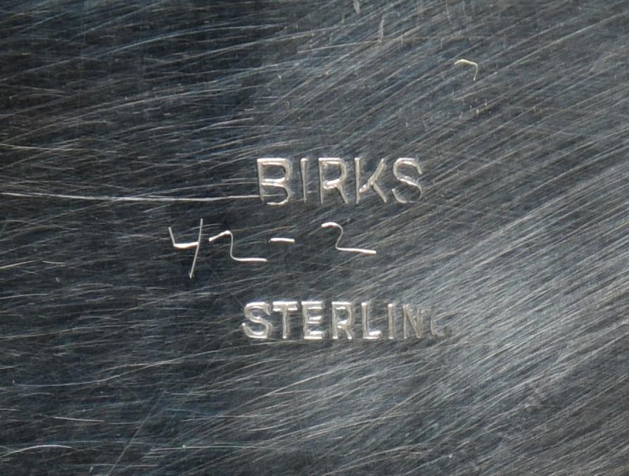 Lot 890: 5 Birks Sterling Bowls inc. Art Nouveau plus sauce