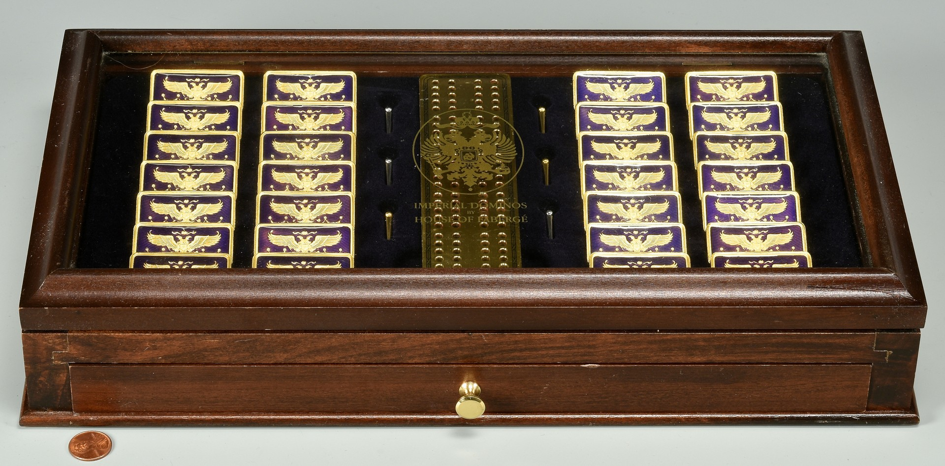 Lot 894: House of Faberge Imperial Dominos