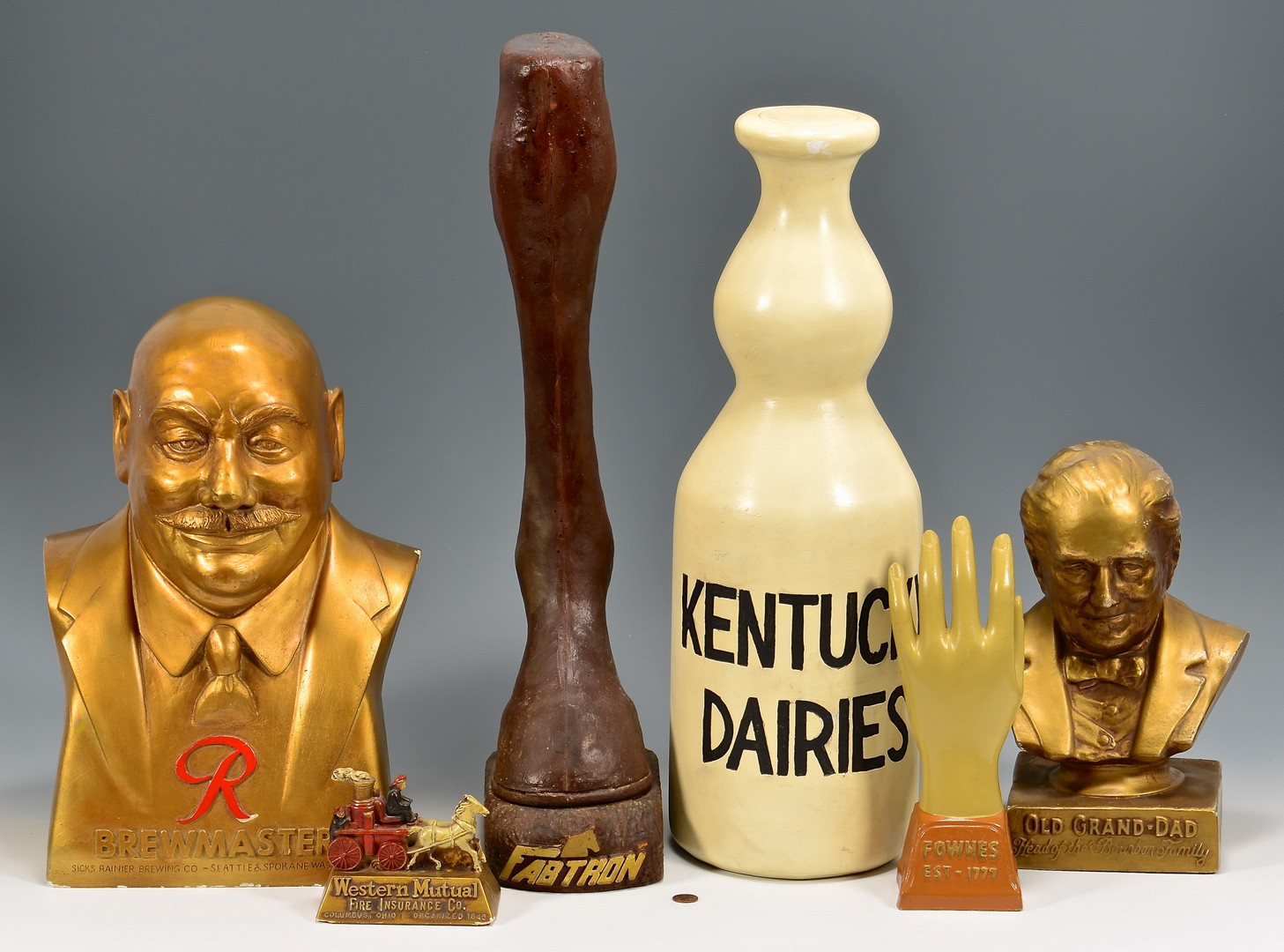 Lot 896: 6 Advertising Items inc. KY Dairy