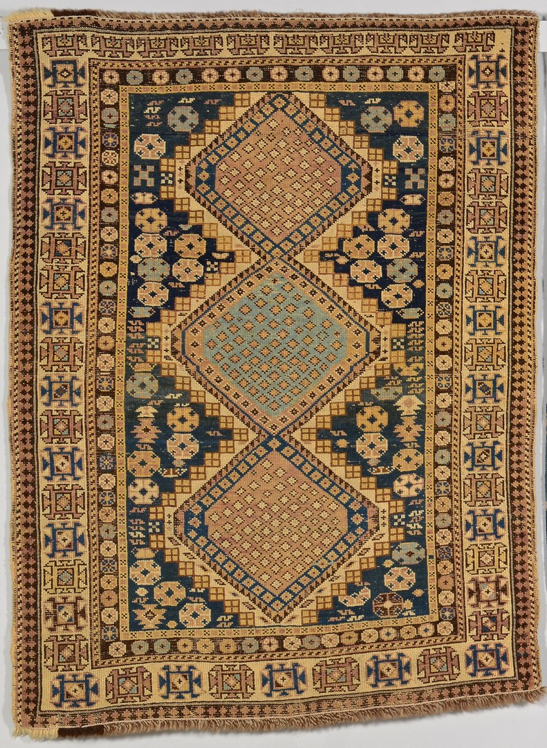 Lot 908: Shirvan and Kuba Caucasus area rugs