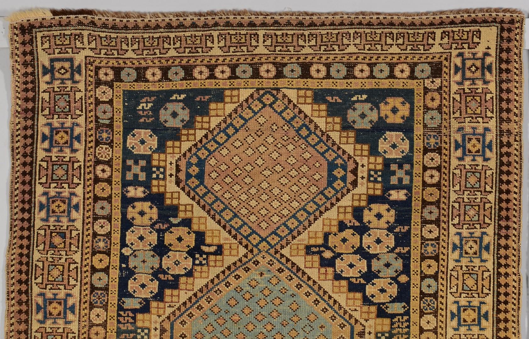 Lot 908: Shirvan and Kuba Caucasus area rugs