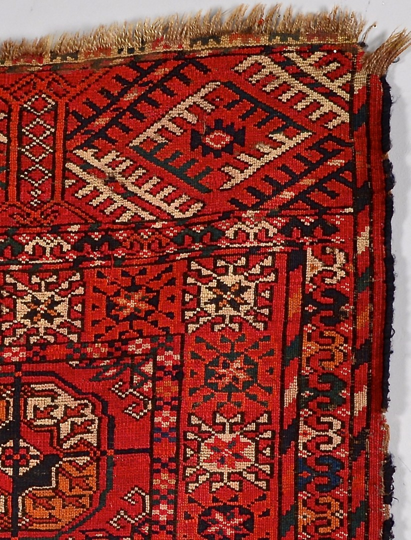 Lot 912: Group of 3 Antique Tribal Area Rugs