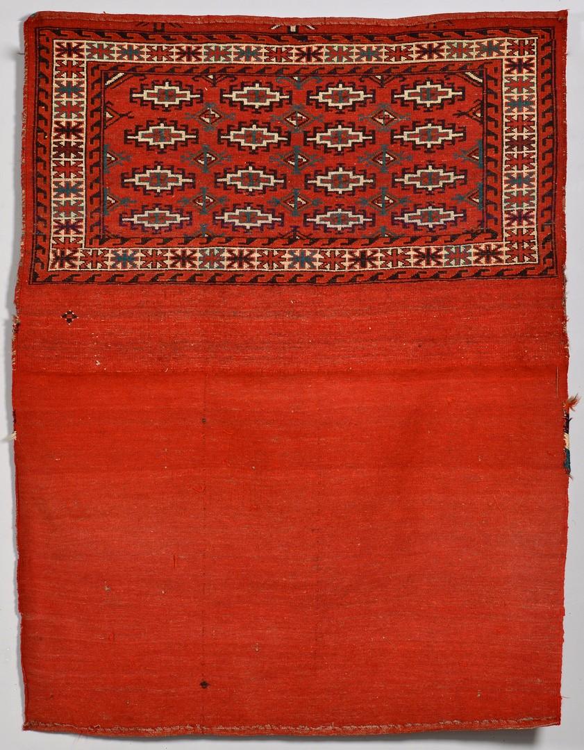 Lot 913: Two Turkoman Travel Bags