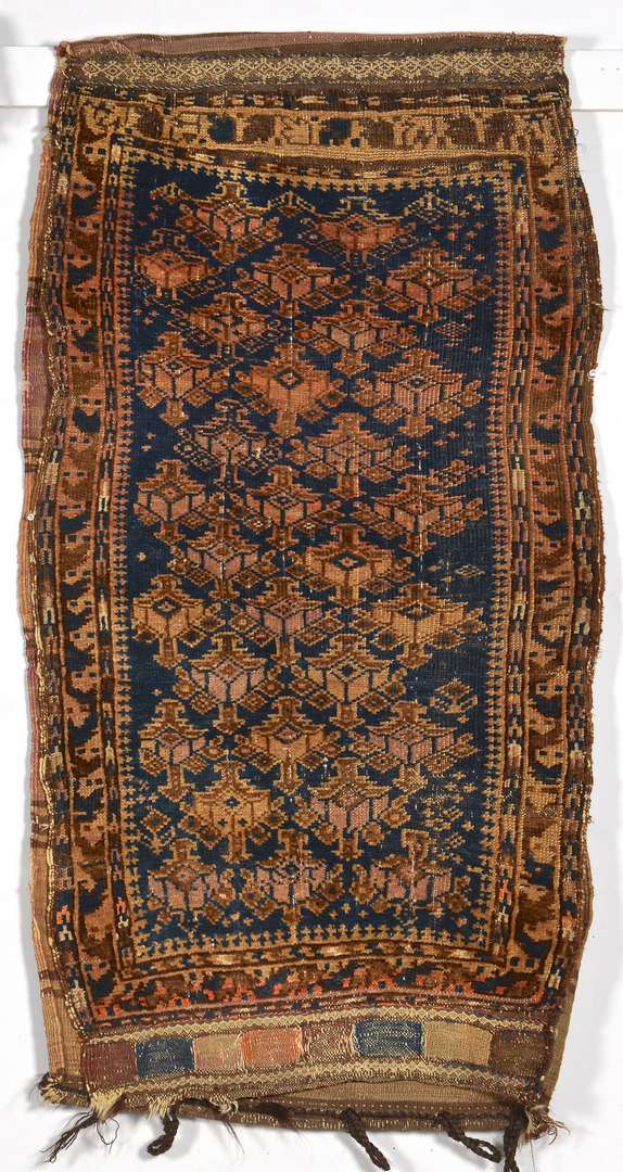 Lot 916 Afghan Prayer Rug And 2 Bags