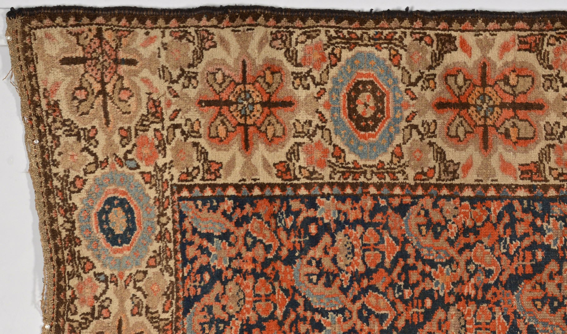 Lot 917: Kurdish area rug, early 20th century