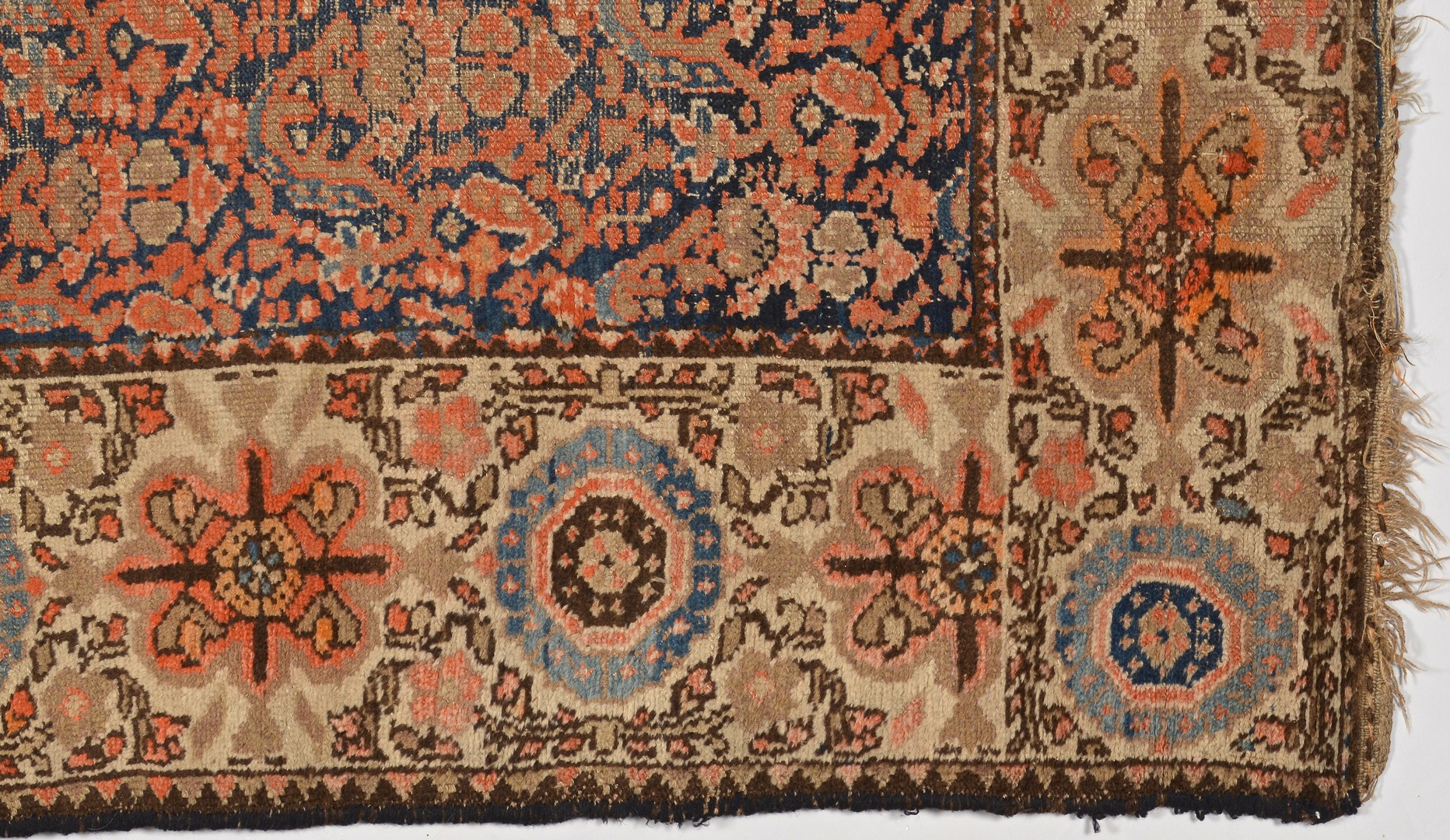 Lot 917: Kurdish area rug, early 20th century
