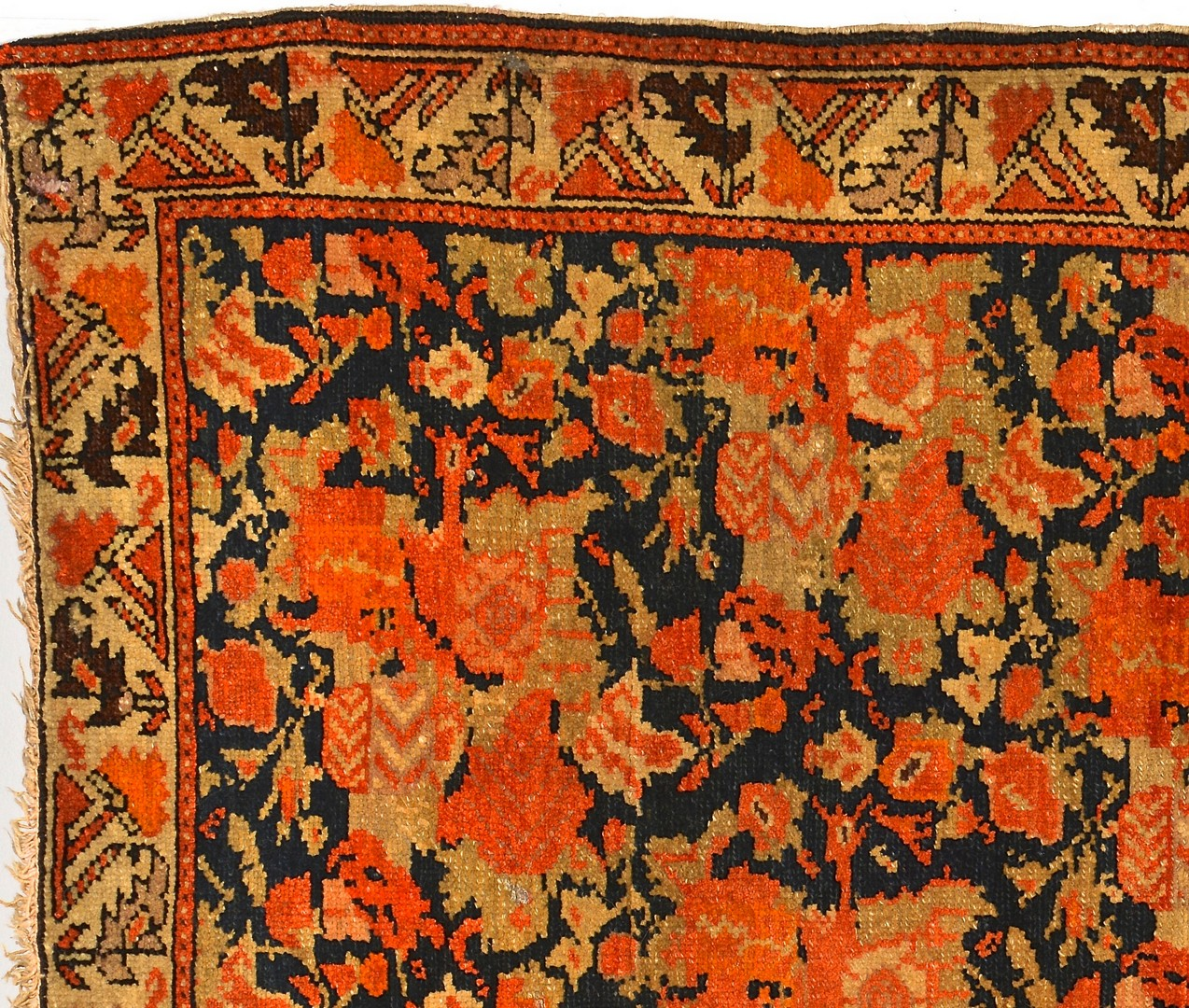 Lot 918: Mission Malayer area rug, early 20th c.