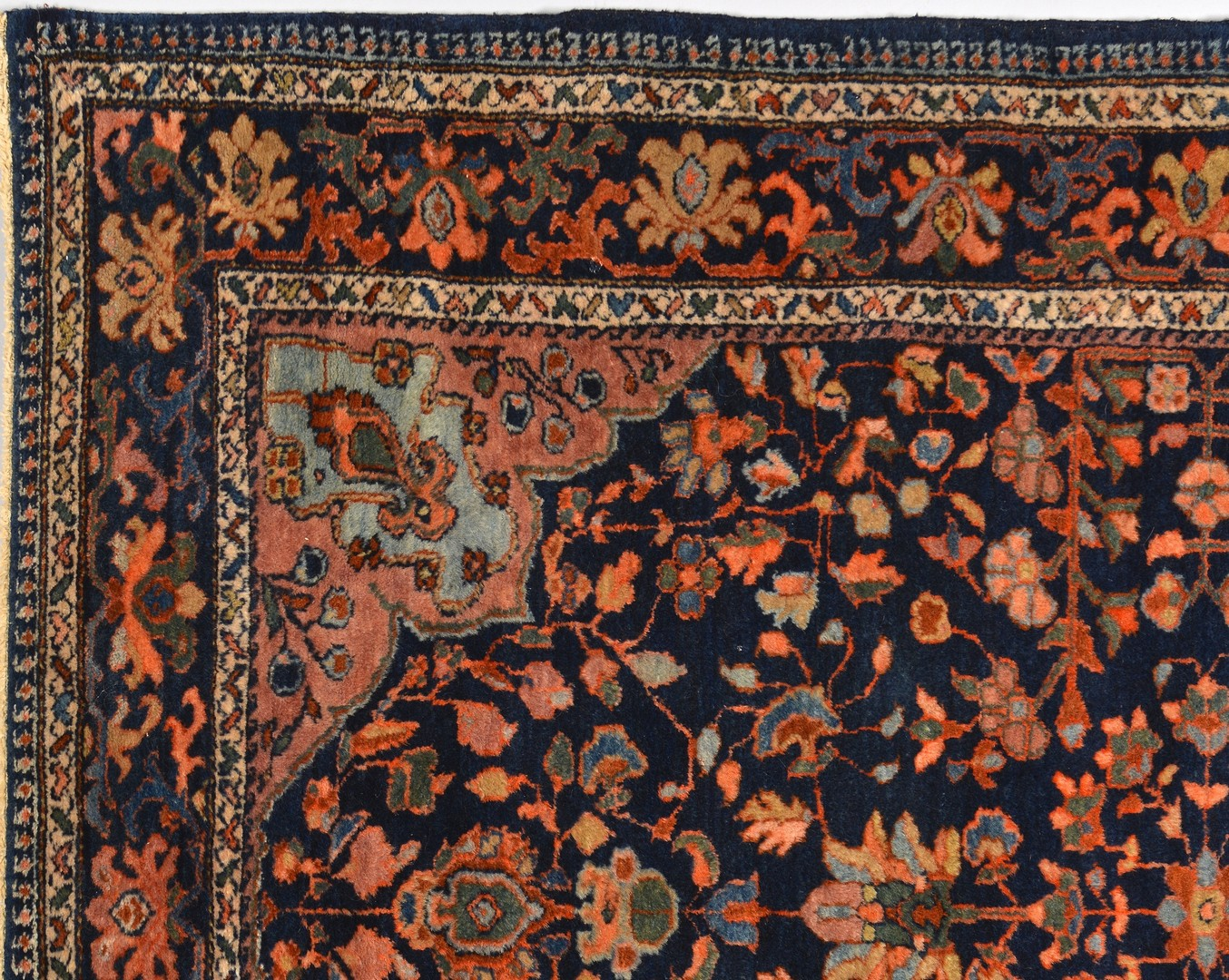 Lot 919: Persian Lilihan area rug, circa 1920