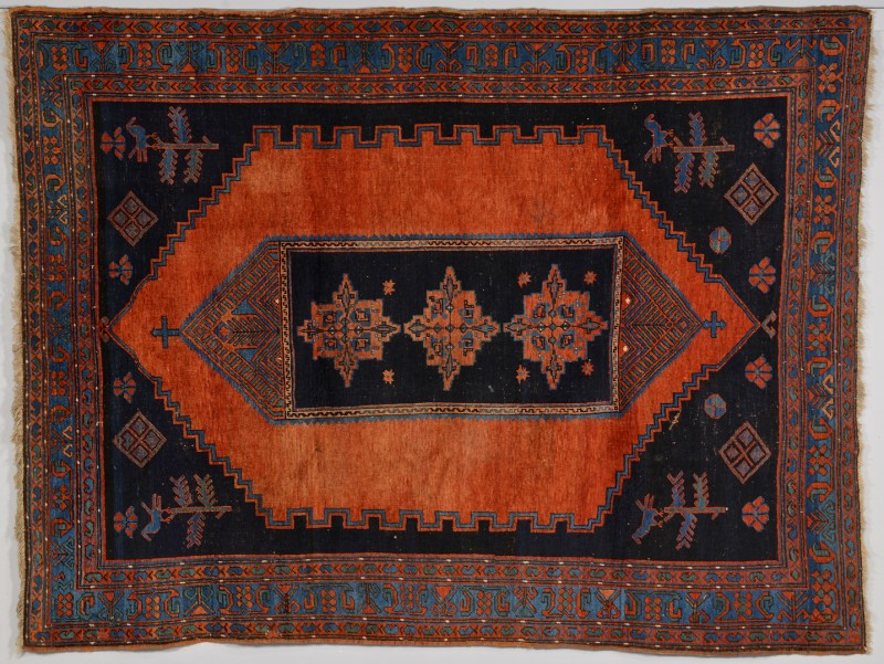 Lot 921: Armenian Kazak Tribal Rug