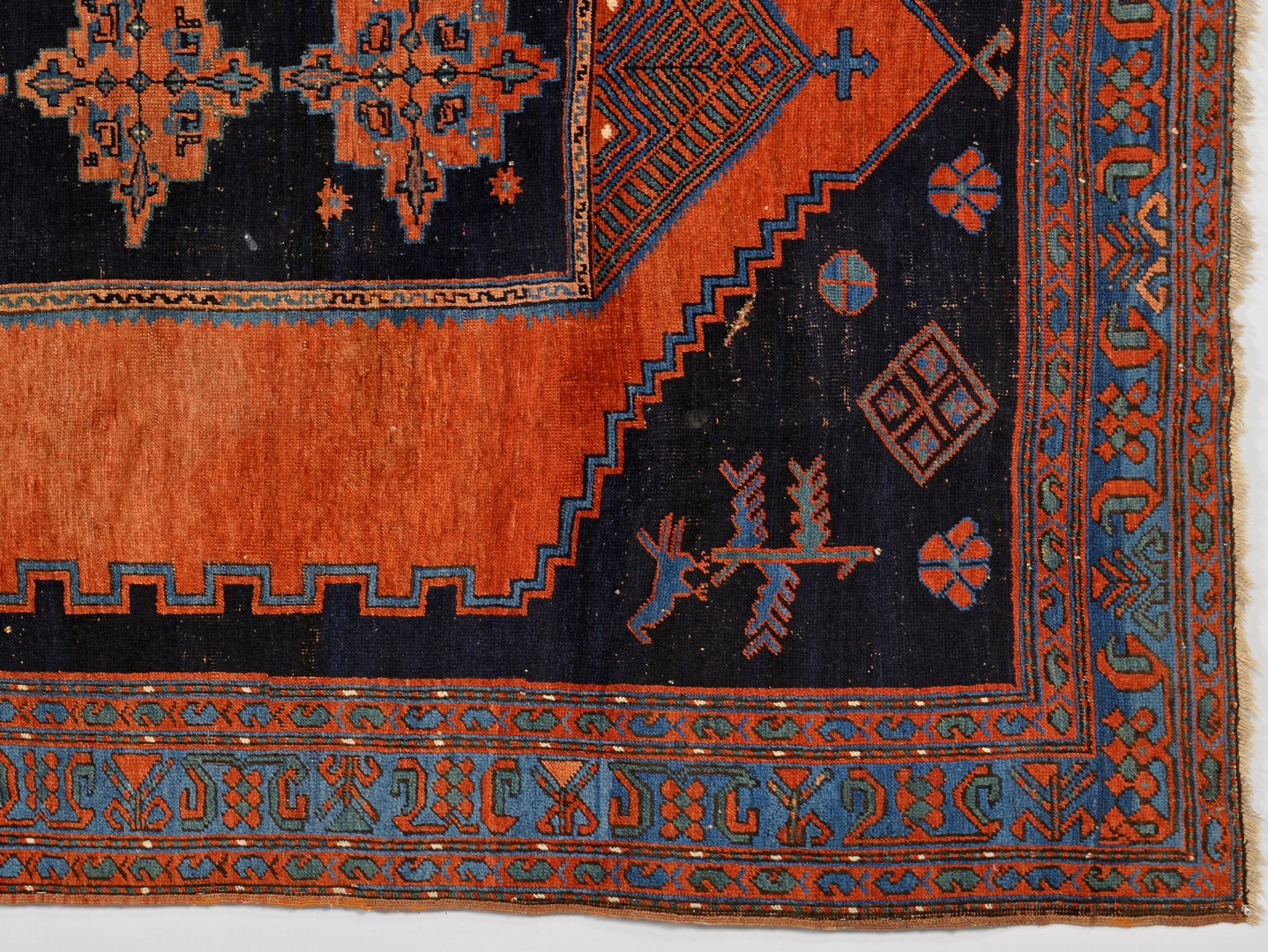 Lot 921: Armenian Kazak Tribal Rug
