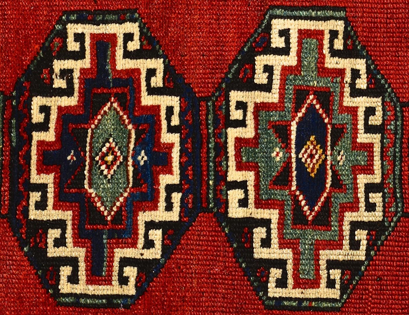 Lot 922: Persian Kazak Runner with Medallions