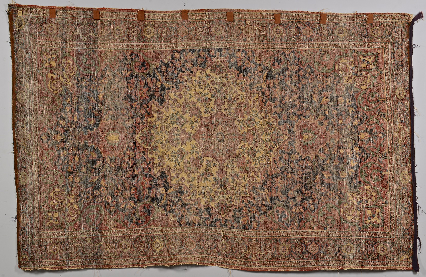 Lot 924: Persian Sarouk Rug w/ Ivory Center