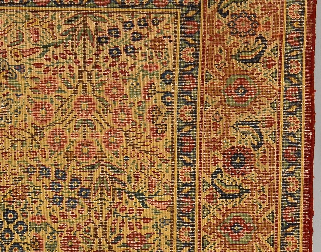 Lot 925: 2 Persian rugs, Kirman & Tribal