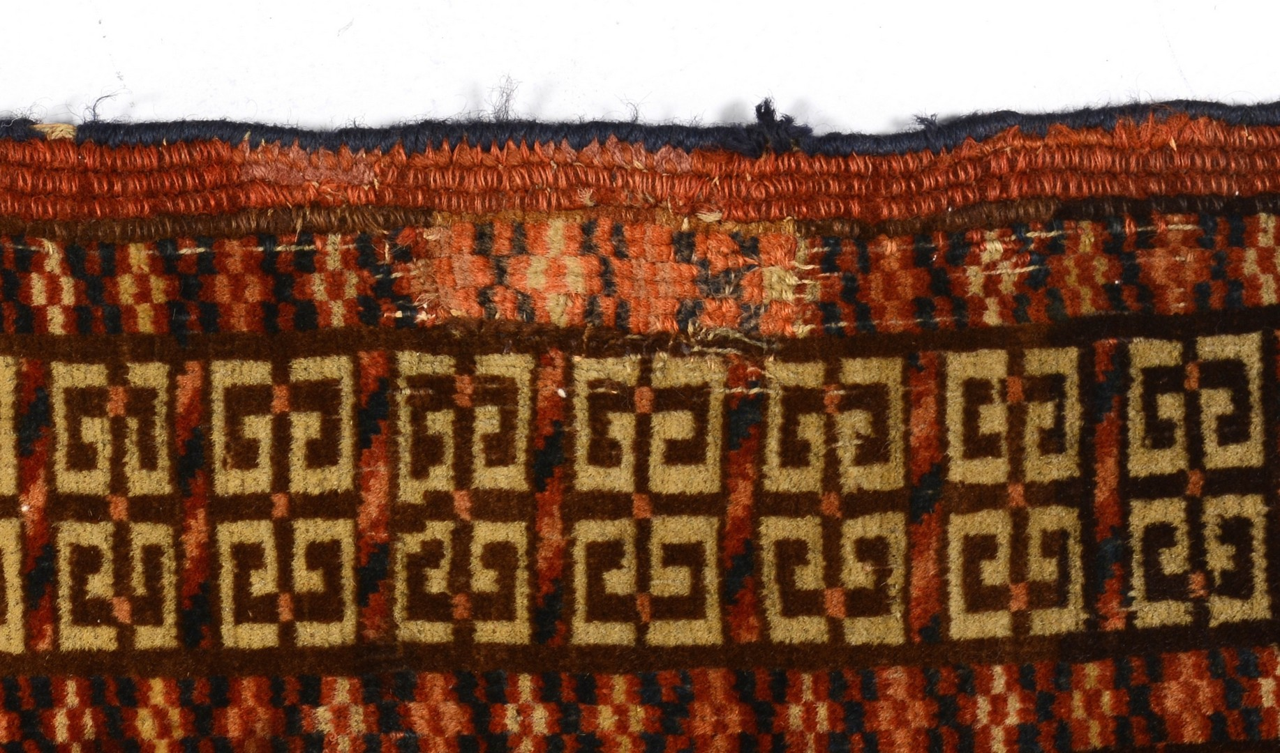 "Lot 928: Tekke Engri area rug, 53 1/2"" x 49 1/2"""