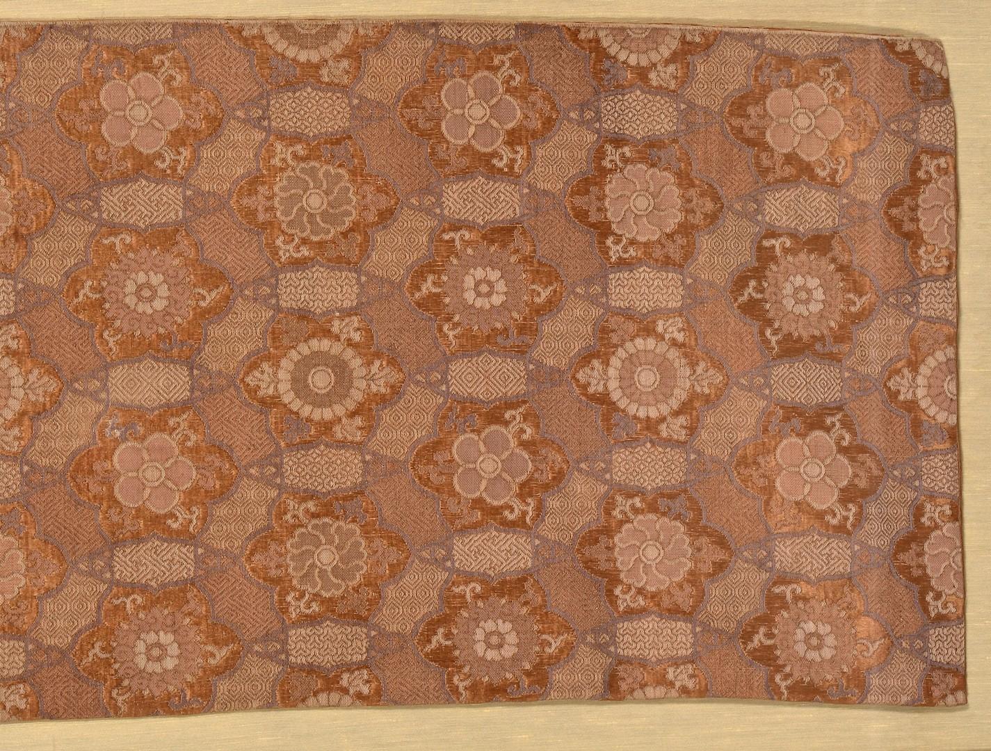 Lot 931: 3 Asian Silk Brocade Textiles