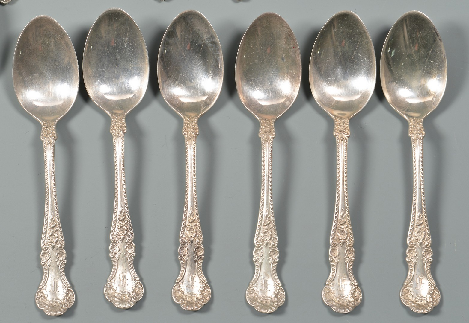 Lot 958: Grouping of Vintage Sterling Flatware