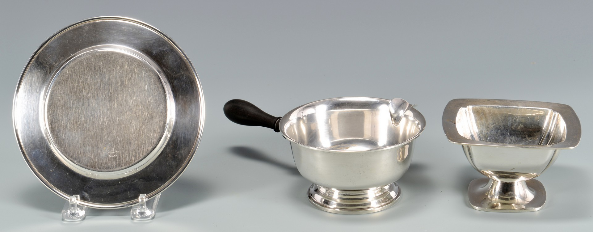 Lot 959: 5 Items Sterling Serving Pcs incl Kirk