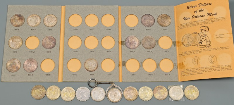 Lot 963: Morgan Silver Dollar Booklet plus More.