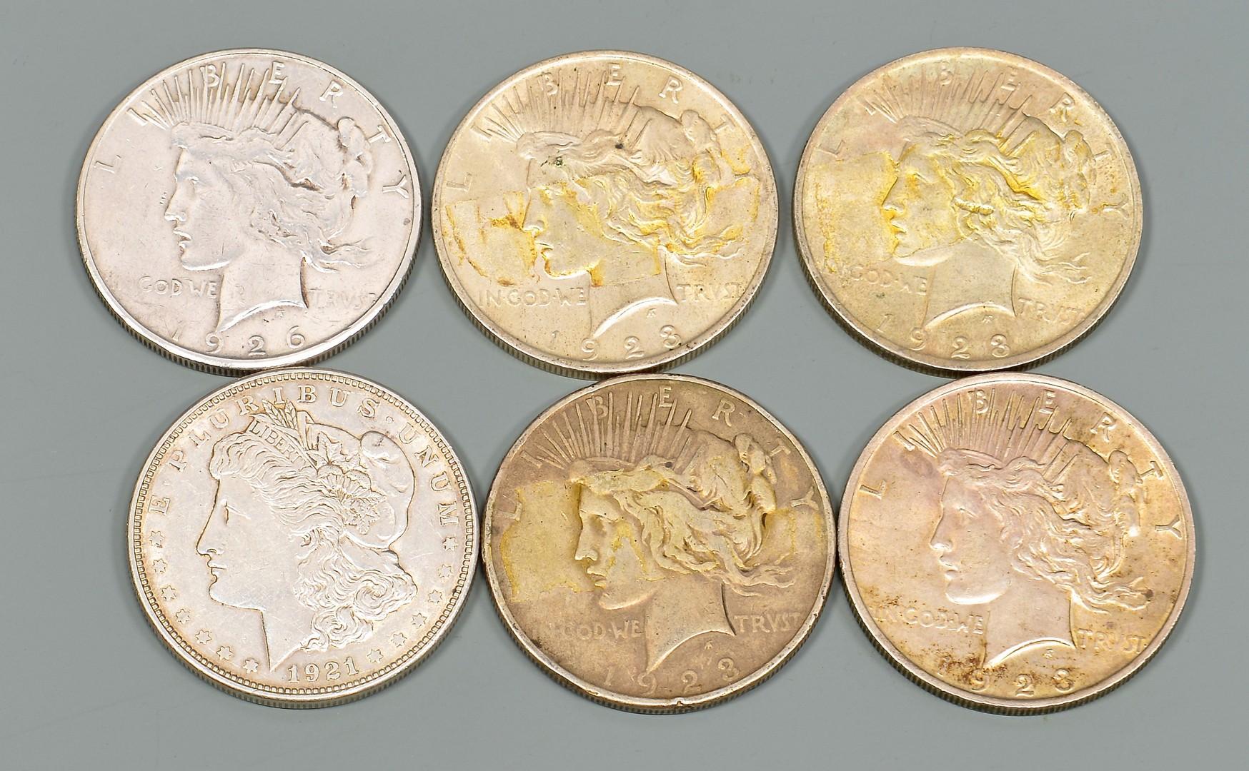 Lot 963: Morgan Silver Dollar Booklet plus More.