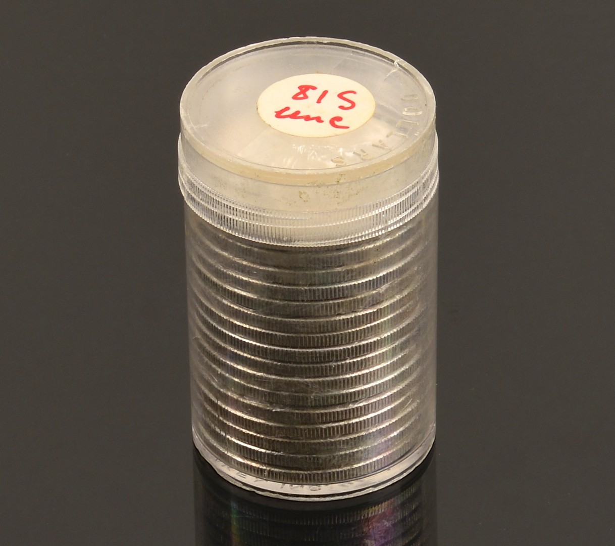Lot 964: 16 Uncirculated 1881 Morgan Silver Dollars