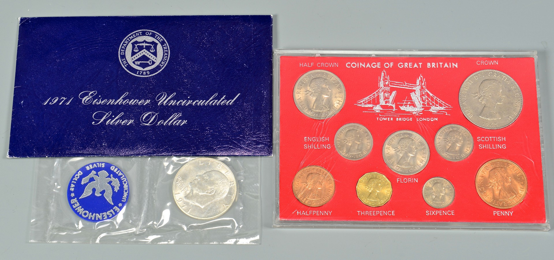 Lot 965: Grouping of American, European/Foreign Coins
