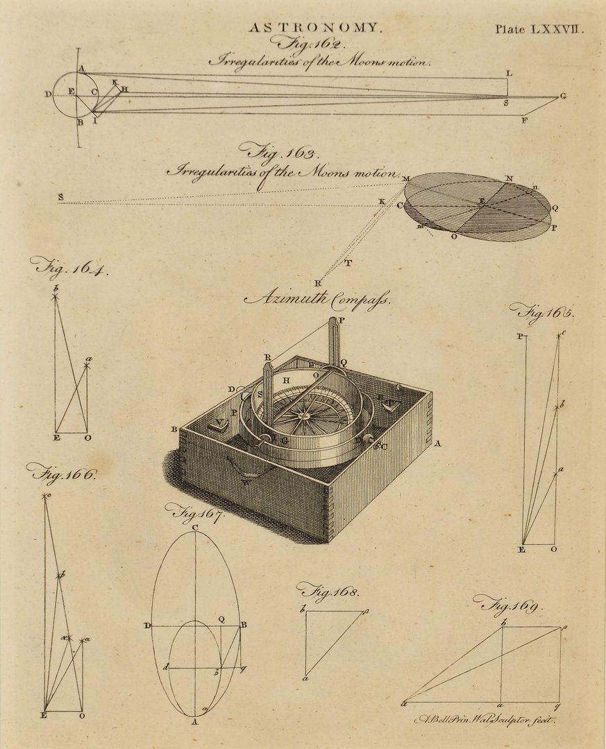 Lot 105: Three (3) Framed Scientific Prints, Bell & Lowry