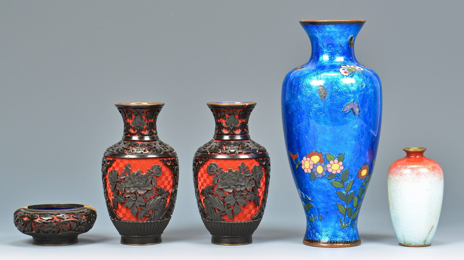 Lot 119: Group of Asian Decorative Items