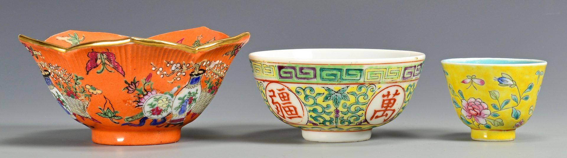 Lot 127: Misc. Asian Porcelain & Snuff Bottles