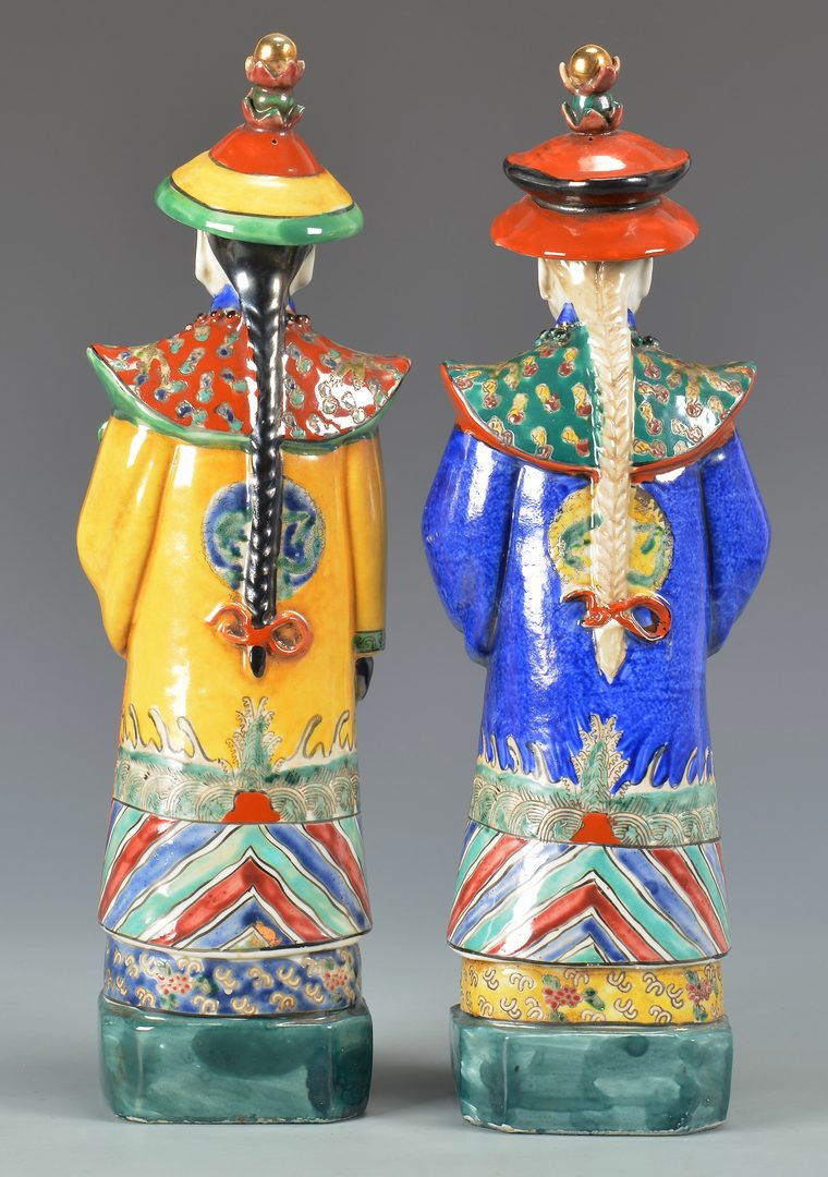 Lot 128: Three Chinese Porcelain Figures