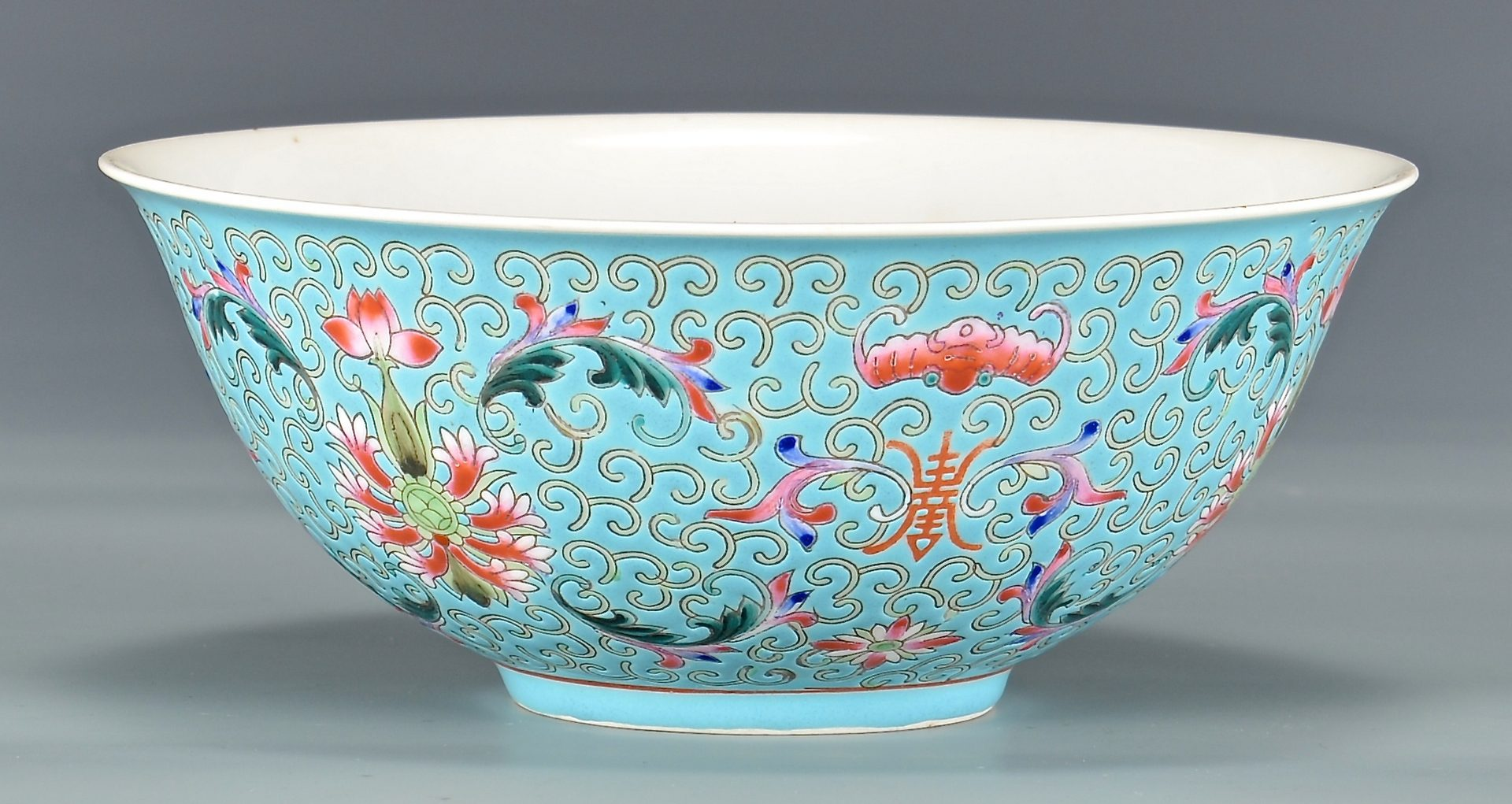 Lot 129: Chinese Famille Rose Republic Bowl