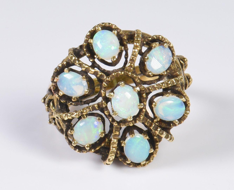 Lot 134: 14K Vintage Style Jewelry