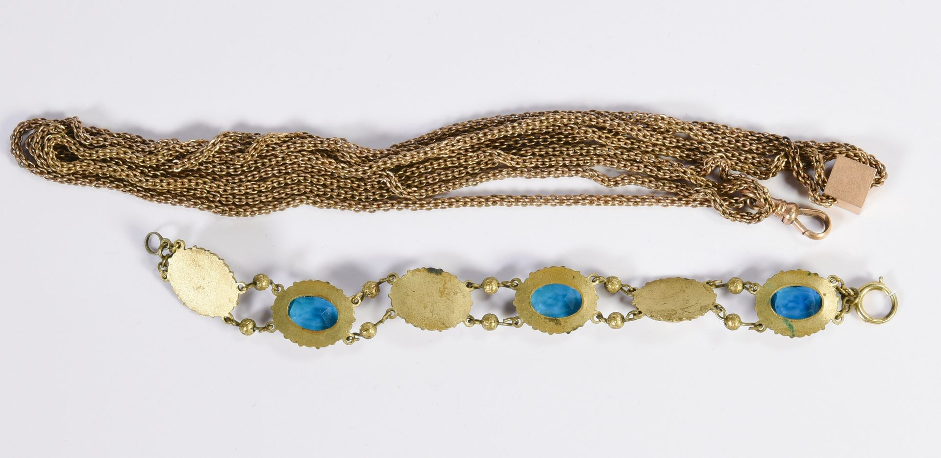 Lot 144: Group of Victorian Costume Jewelry