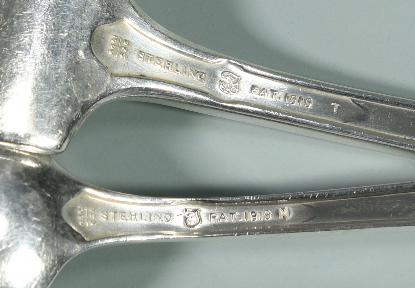 Lot 151: 24 pcs Towle Sterling Flatware, Virginia Carvel pattern