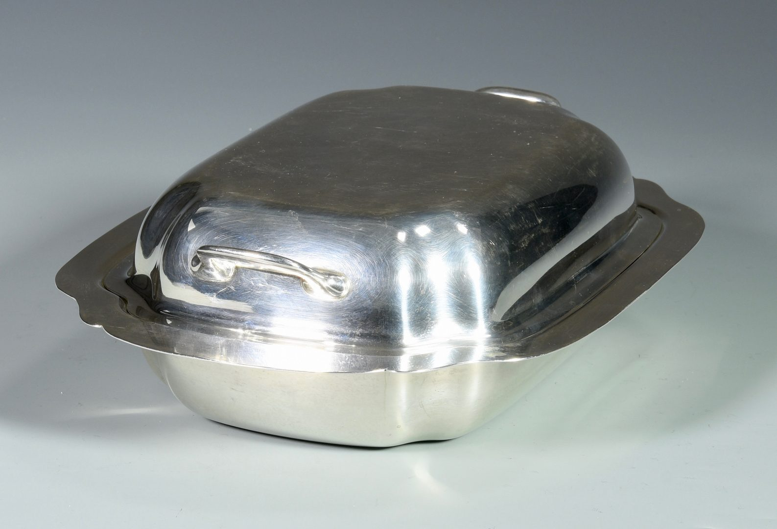 Lot 152: Sterling Silver Covered Server by Ellmore